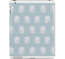 Elephants come in Pairs iPad Case/Skin