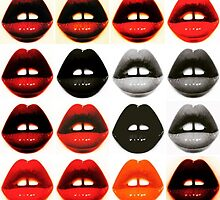 Pop Lips by Slapstic Inks