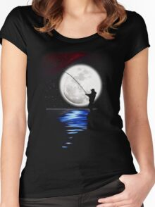 Rock Angler Women's Fitted Scoop T-Shirt