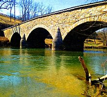 Burnside's Bridge - Antietam, Civil War Battle Site by VisionQuestArts