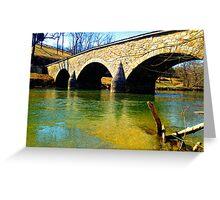 Burnside's Bridge - Antietam, Civil War Battle Site Greeting Card