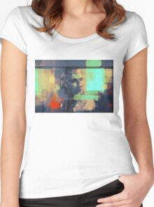 Bus ride Women's Fitted Scoop T-Shirt