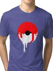 Pokeball Melt Tri-blend T-Shirt