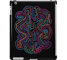 The coloured pattern. iPad Case/Skin