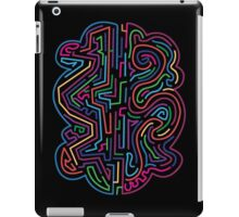 The coloured pattern. iPad Case/Skin