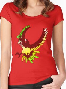 Ho-oh Women's Fitted Scoop T-Shirt