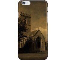 The Parish Church of St Andrew   Texture iPhone Case/Skin