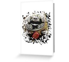 The Strength of My Constitution! Greeting Card