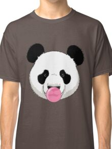 Panda and bubble gum Classic T-Shirt