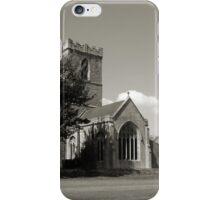 The Parish Church of St Andrew   B&W iPhone Case/Skin