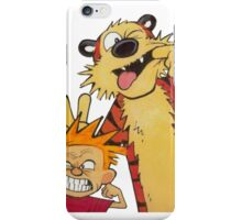 calvin and hobbes yuck iPhone Case/Skin