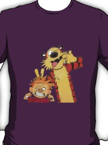 calvin and hobbes yuck T-Shirt
