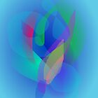 Light Blue Abstract Colors by masabo