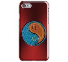Scorpio & Dragon Yang Wood iPhone Case/Skin