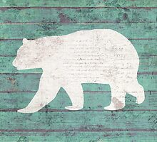 Rustic Bear Silhouette by anabellstar