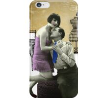 Romantic evening at home iPhone Case/Skin