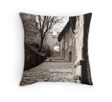 Chateaux de Valere Throw Pillow