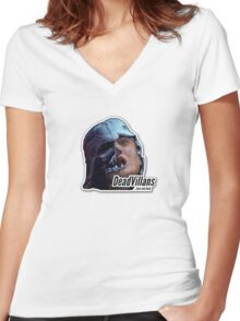 Darth Vader ft. King Joffrey Women's Fitted V-Neck T-Shirt