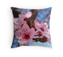 Blossum Song Throw Pillow