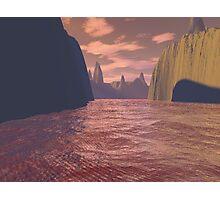 Blood Canyon Photographic Print