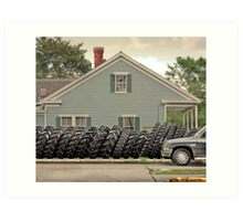 Louisiana Tires Art Print