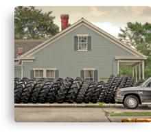 Louisiana Tires Canvas Print