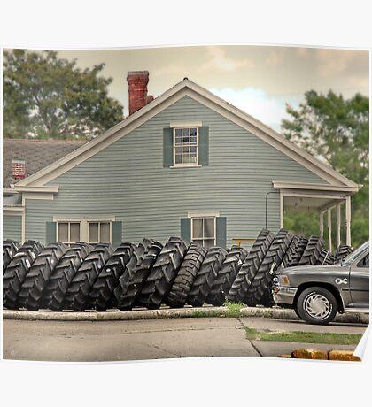 Louisiana Tires Poster