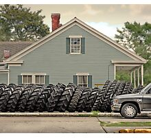 Louisiana Tires Photographic Print