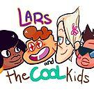 lars and the cool kids  by KayJayTwisp