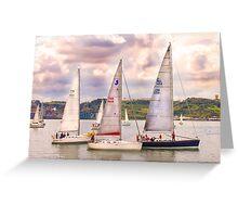 regatta 1 Greeting Card