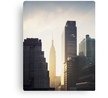 Manhattan Sunrise Canvas Print