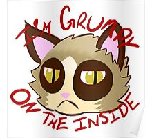 I'm Grumpy on the Inside Poster