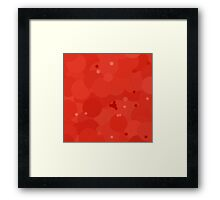 Fiesta Bubble Dot Color Accent Framed Print