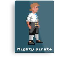Mighty Pirate V2 Metal Print