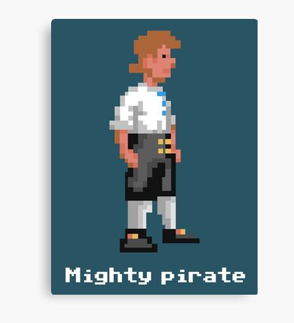 Mighty Pirate V2 Canvas Print