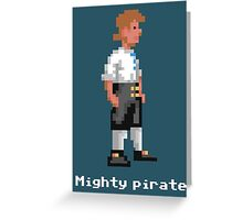 Mighty Pirate V2 Greeting Card