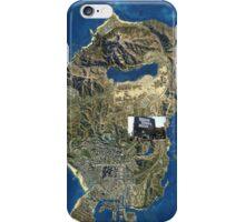 GTA V MAP iPhone Case/Skin