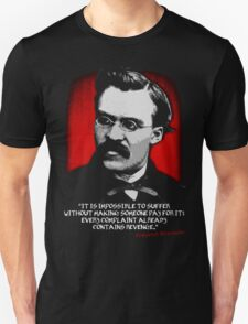 Friedrich Nietzsche Philosophy Quotation Unisex T-Shirt