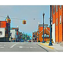 Small Town Photographic Print