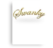 Swanky Canvas Print