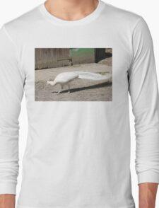 White Peacock. Long Sleeve T-Shirt