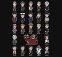 A Field Guide to the Common Cumberbatch (shirt) by redscharlach