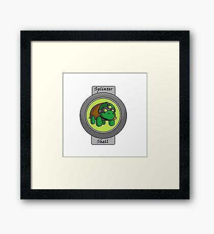 Splinter Shell Framed Print