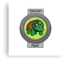 Splinter Shell Canvas Print