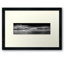 Salt Flats Framed Print