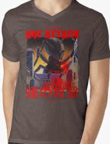 Ant Attack Mens V-Neck T-Shirt