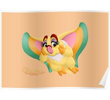 The Demure Owlette by Kevenn T. Smith Poster