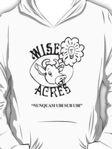 Wiseacres Black and White T-Shirt