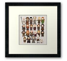 Tiny Hobbit Framed Print