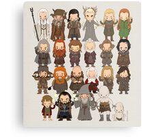 Tiny Hobbit Metal Print